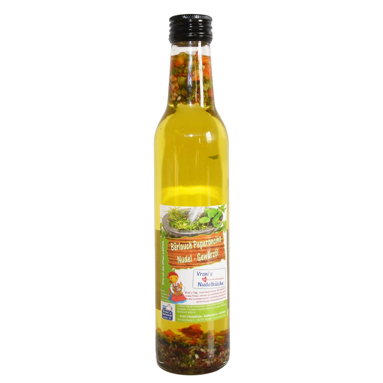 Nudel Gewürzöl - Bärlauch Peperoncino