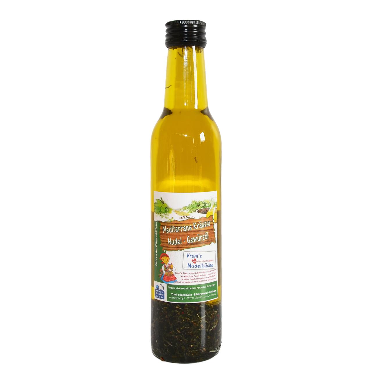 Nudel Gewürzöl - Mediterrane Kräuter