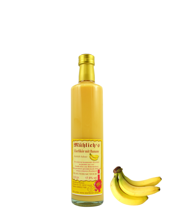 Eierlikör mit Banane